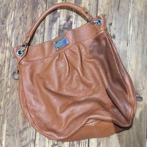 Marc by Marc Jacobs Camel Leather Hobo Bag
